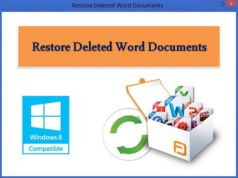 Windows 7 Restore Deleted Word Documents 4.0.0.32 full
